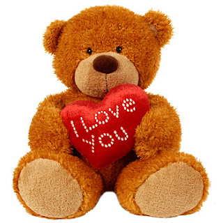 I love you Teddy Bear present