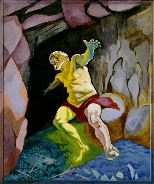 J.F. Willumsen: Trilogien 1 - Tizian Døende