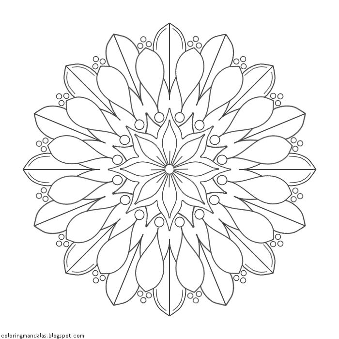 Coloring Mandalas 12 Lifebloom