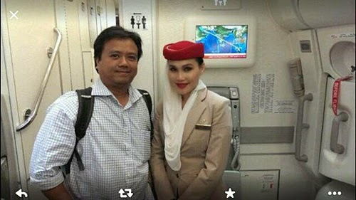 Gambar isteri fahrin ahmad (elena hani eleas), gambar bini fahrin ahmad bernama elena hani, gambar elena hani pramugari emirates airlines, biodata elena hani eleas, biodata fahrin ahmad, gambar nikah fahrin ahmad, foto perkahwinan fahrin ahmad