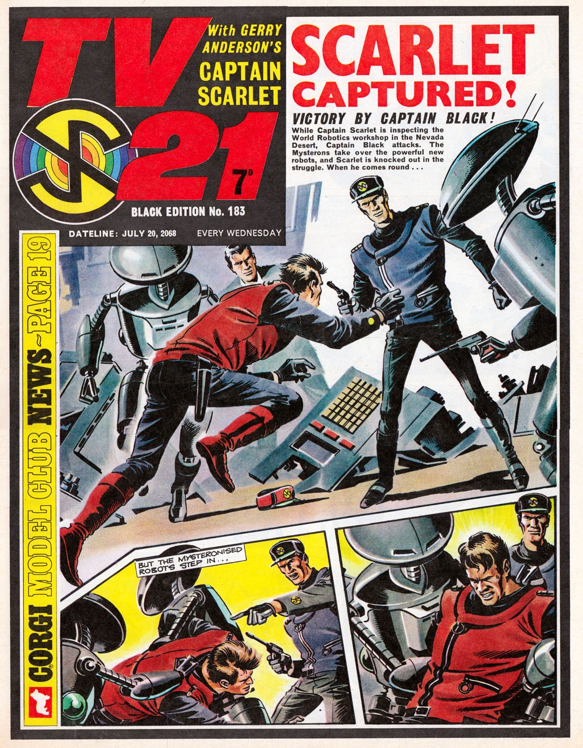 Captain Scarlet TV21