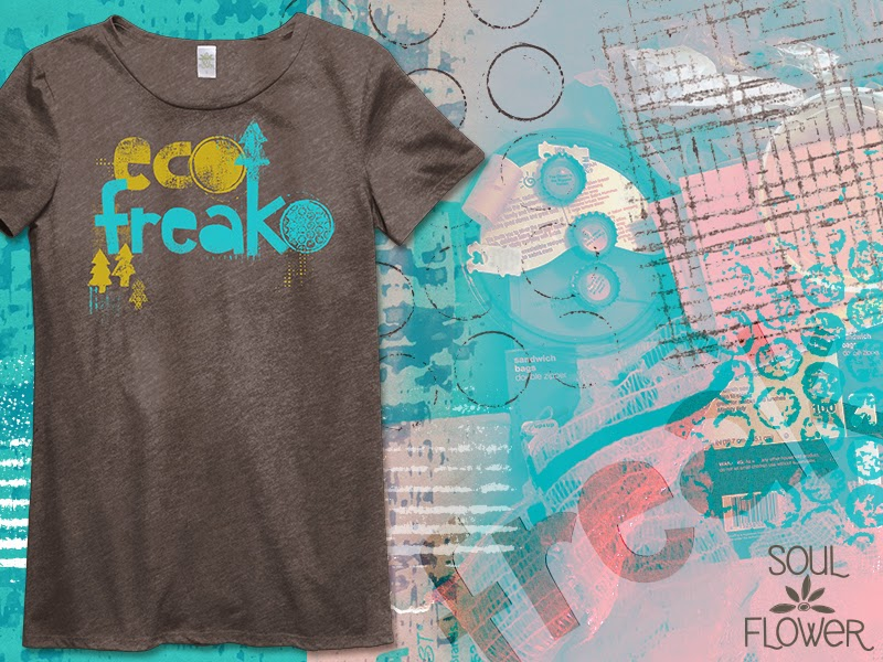 recycled eco design - Made from Trash: Eco Freako