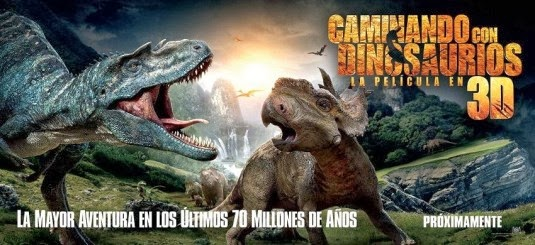 Nuevo-tráiler -Caminando-Dinosaurios-3D