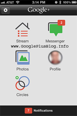 Google Plus Hangouts On Apple iPhone