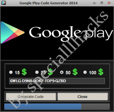 google play code generator hack apk