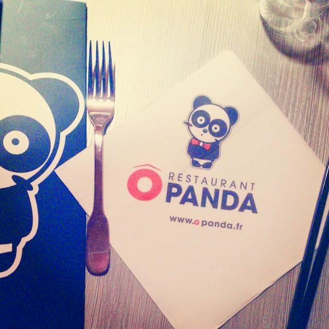 O panda restaurant sushi