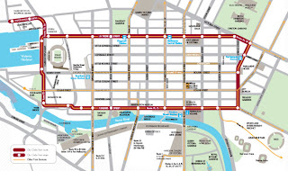 Free City Circle Tram Route