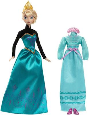JUGUETES - DISNEY Frozen  Elsa's Fashions : Day & Night | Moda : Dia y Noche | Muñeca - Doll  Producto Oficial 2015 | Mattel CMM31 |  A partir de 3 años  Comprar en Amazon