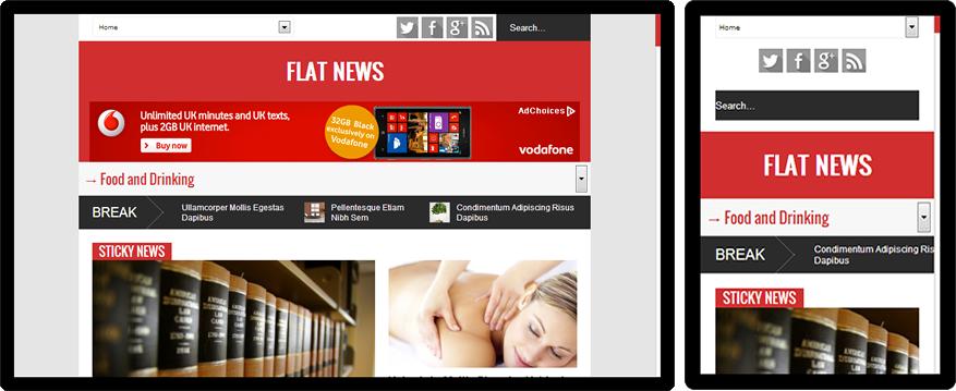 flat-news-responsive