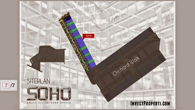 Orchard Park Batam SOHO Site Plan
