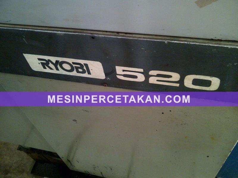 Mesin cetak offset ryobi 480n
