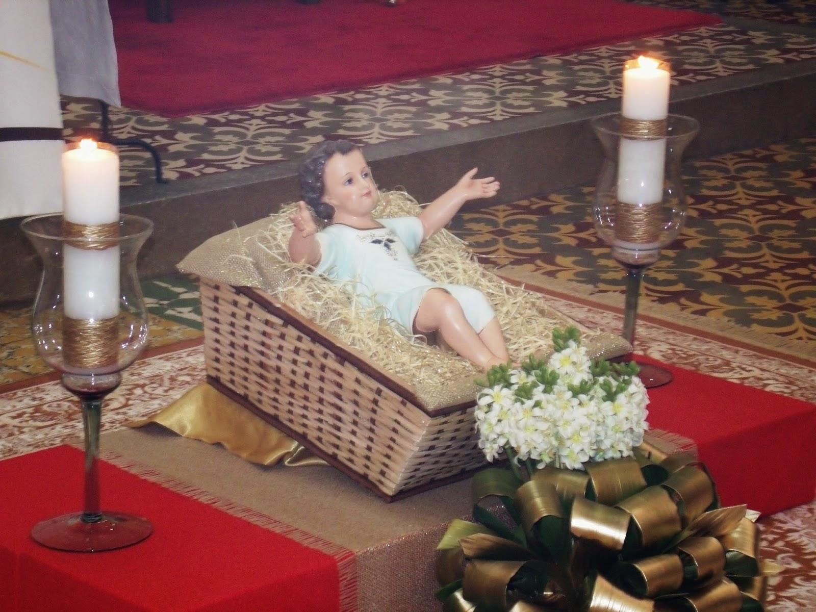 Santa Missa na noite de Natal na Igreja Matriz do SCJ