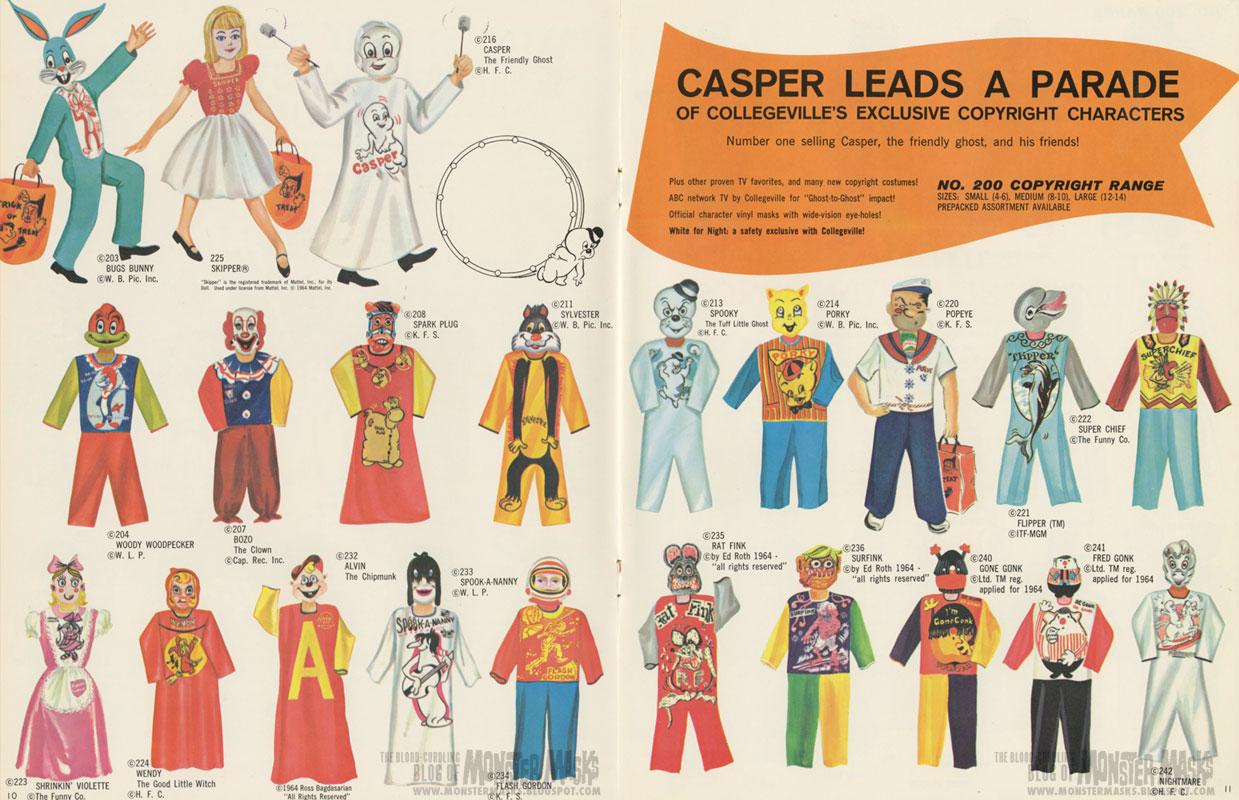 costume catalog