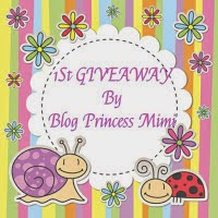 1St GIVEAWAY By Blog Princess Mimi