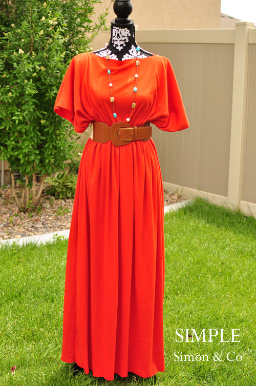 A 3-Seam Caftan Tutorial.