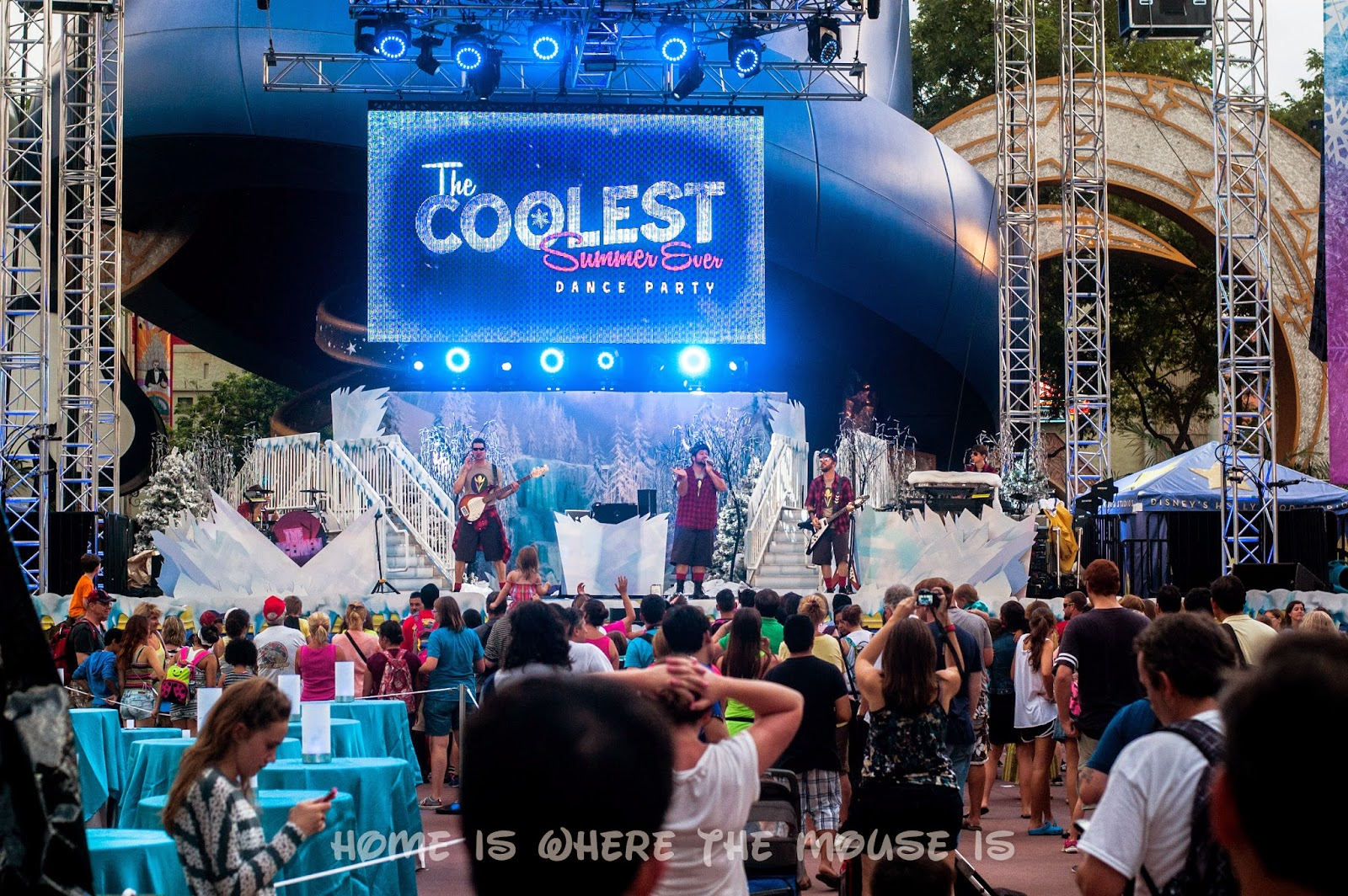 Icemen Perform at Coolest Summer Ever Dance Party