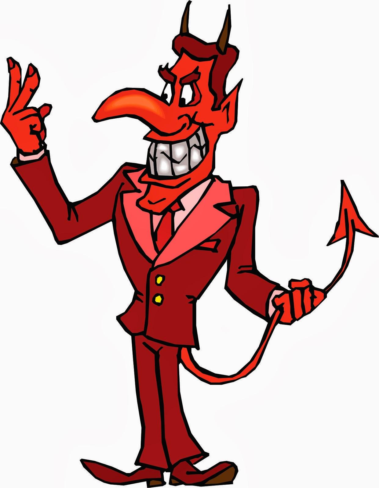 cartoon devil