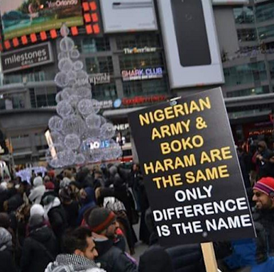 Updates : Protest in US, Canada, India over the arrest of Shiite leader in Nigeria [ Photo ]