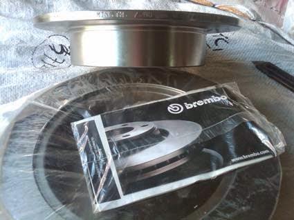 Brake Disc Belakang  Toyota Yaris / Vios (08.A273.10)