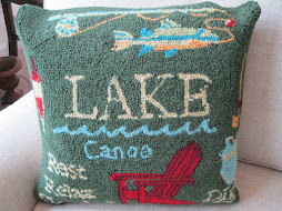 Adirondack Crewel Pillow