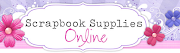 July sponsor - Scrapbook Supplies online
