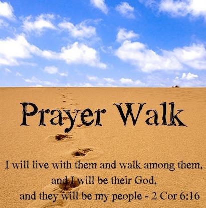Image result for prayer walk