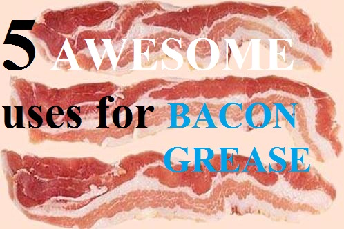 my american confessions tuesday how to use bacon grease in 5 different ways. Black Bedroom Furniture Sets. Home Design Ideas