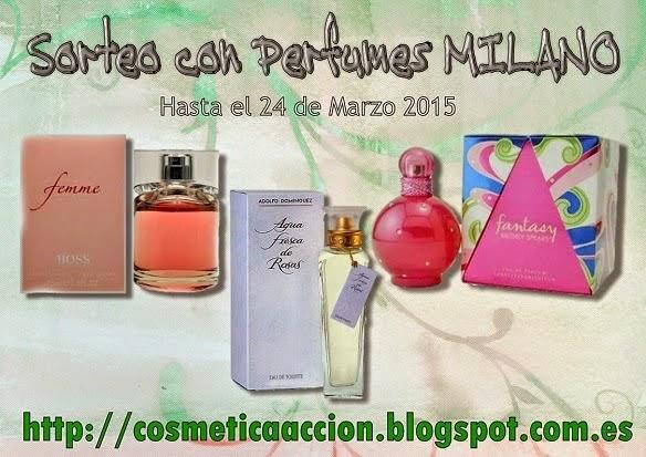 Sorteo Perfumes Milano