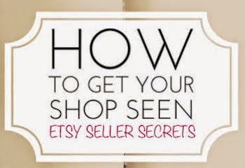 Etsy Shop Tips