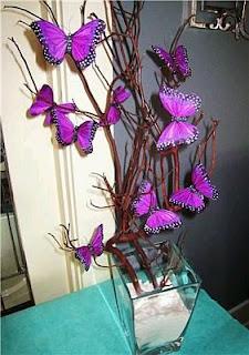 Centros de Mesa para Bodas con Mariposas, parte 2