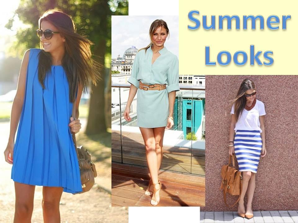 Saia Blusa Short e moda feminina  Summer+looks+ver%C3%A3o+vestido+saia+blusa+short+jeans+colorido+color+2012+0