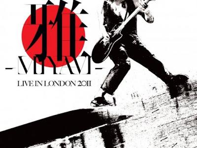Miyavi lanza album  LIVE IN LODON 2011