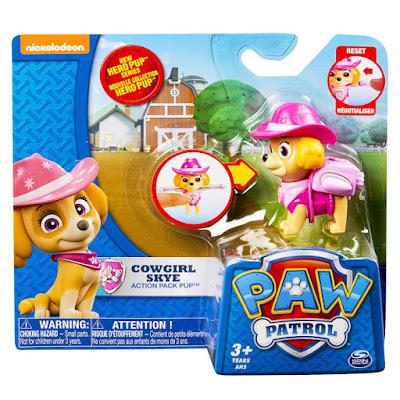 TOYS : JUGUETES - PAW PATROL : La Patrulla Canina Cowboy Skye | Hero Pup | Figura - Muñeco Producto Oficial Serie TV Nickelodeon 2015 | A partir de 3 años Comprar en Amazon España & buy Amazon USA