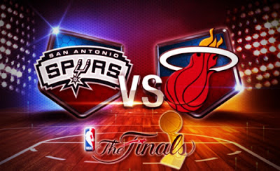 NBA 2013 Finals: Spurs versus Heat