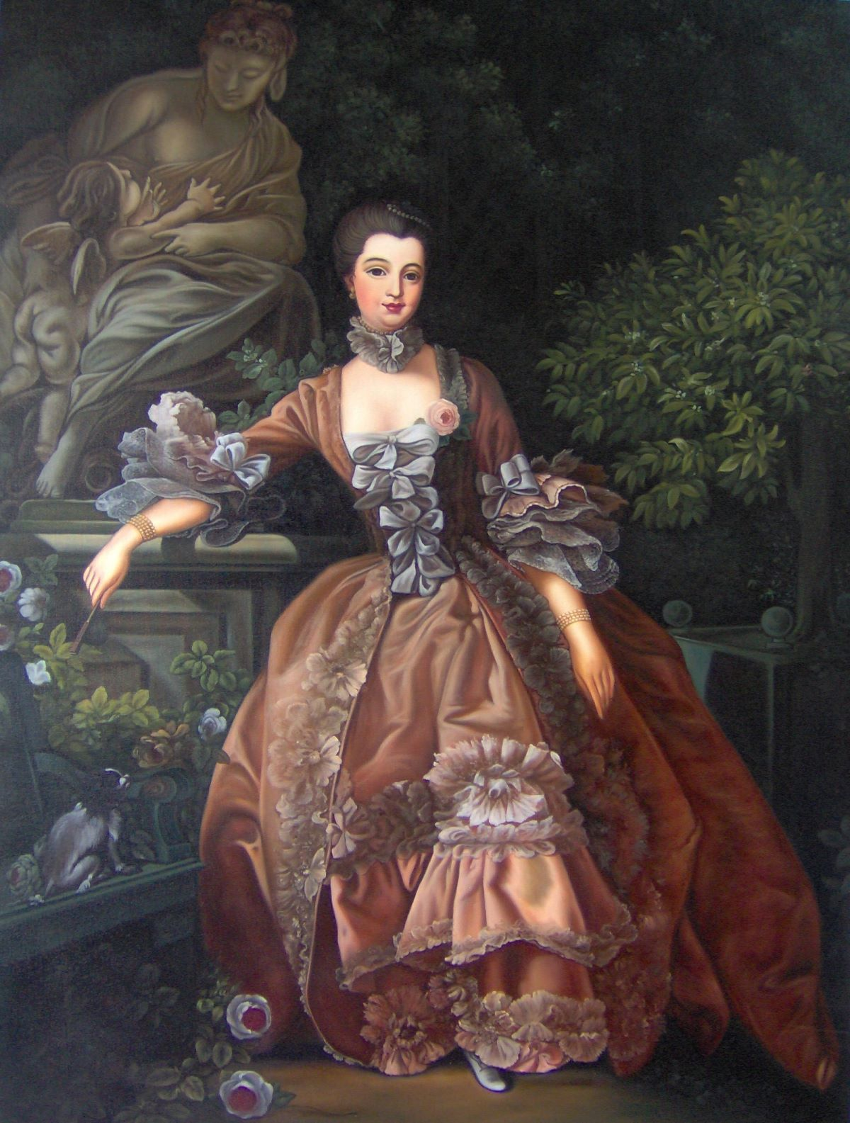 Devilinspired rococo clothing august 2012 for Rococo period paintings