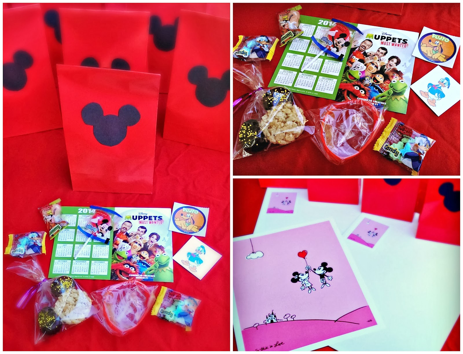 DisneySide @Home Celebration goody bag