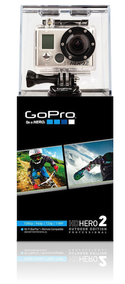 Meet the amazing GoPro Hero2 - Outdoor Edition