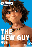 The Croods New Guy Poster