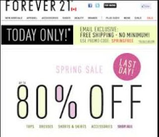 Coupons forever 21 online 2019