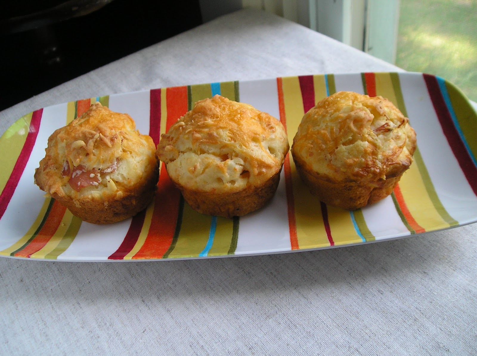 Ham and Cheese Muffins ~ Edesia's Notebook