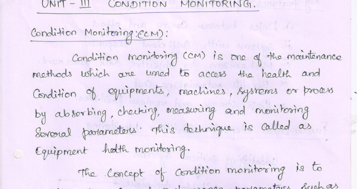 maintenance and safety engineering notes pdf