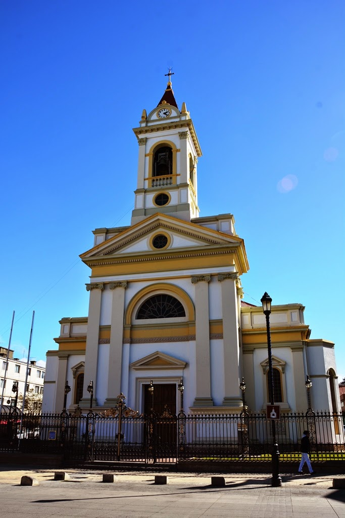 Punta Arenas Chile church
