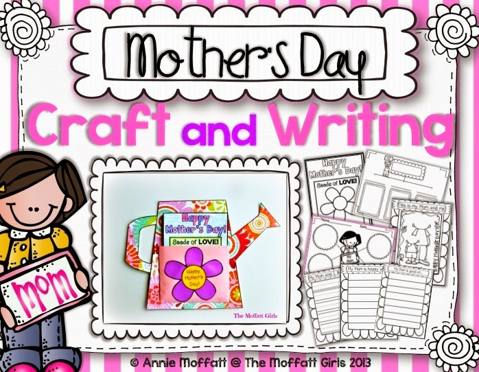 Mother's Day Craft and Writing from The Moffatt Girls