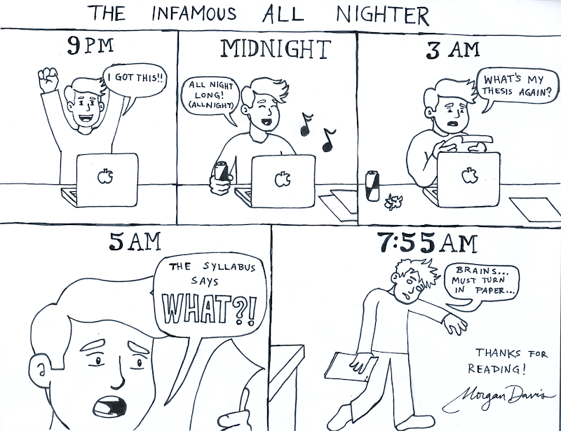 morgan cartoons