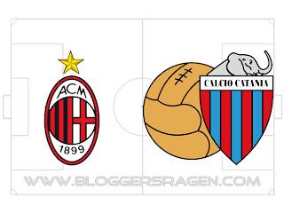 Prediksi Pertandingan AC Milan vs Catania