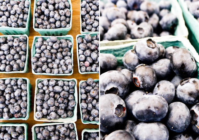 Farmer's Market, Blueberries