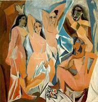 Les Demoiselles d'Avignon (1907) de Pablo Picasso