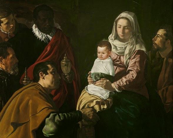 La adoración de los Reyes Magos - Velázquez