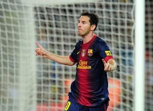 Messi marcó y el Barcelona tomó ventaja en la Ida