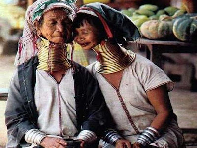 Women of Kayan Lahwi tribe